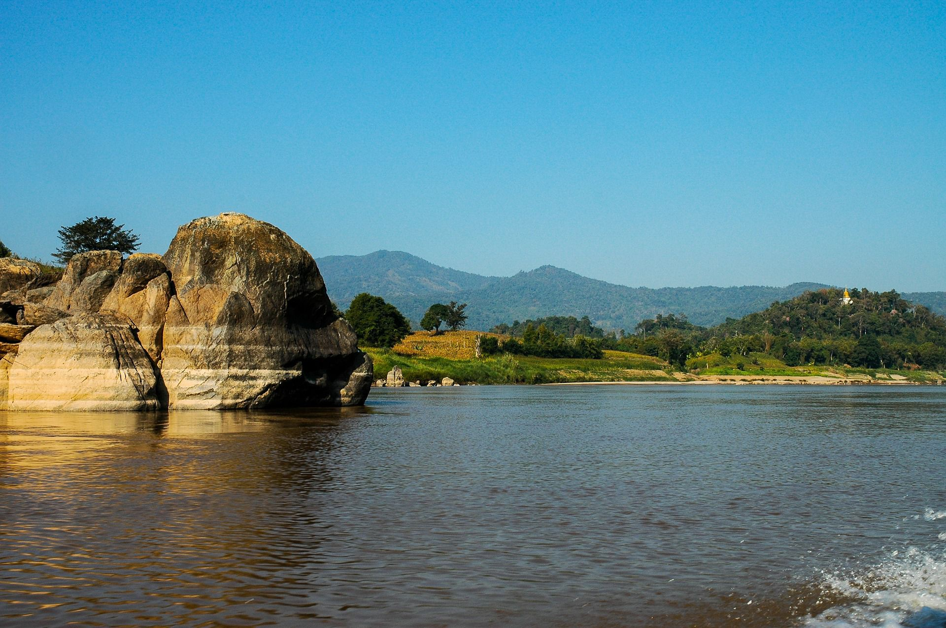 Pictures of the mekong river In pictures: Damming Laos Mekong River Al Jazeera