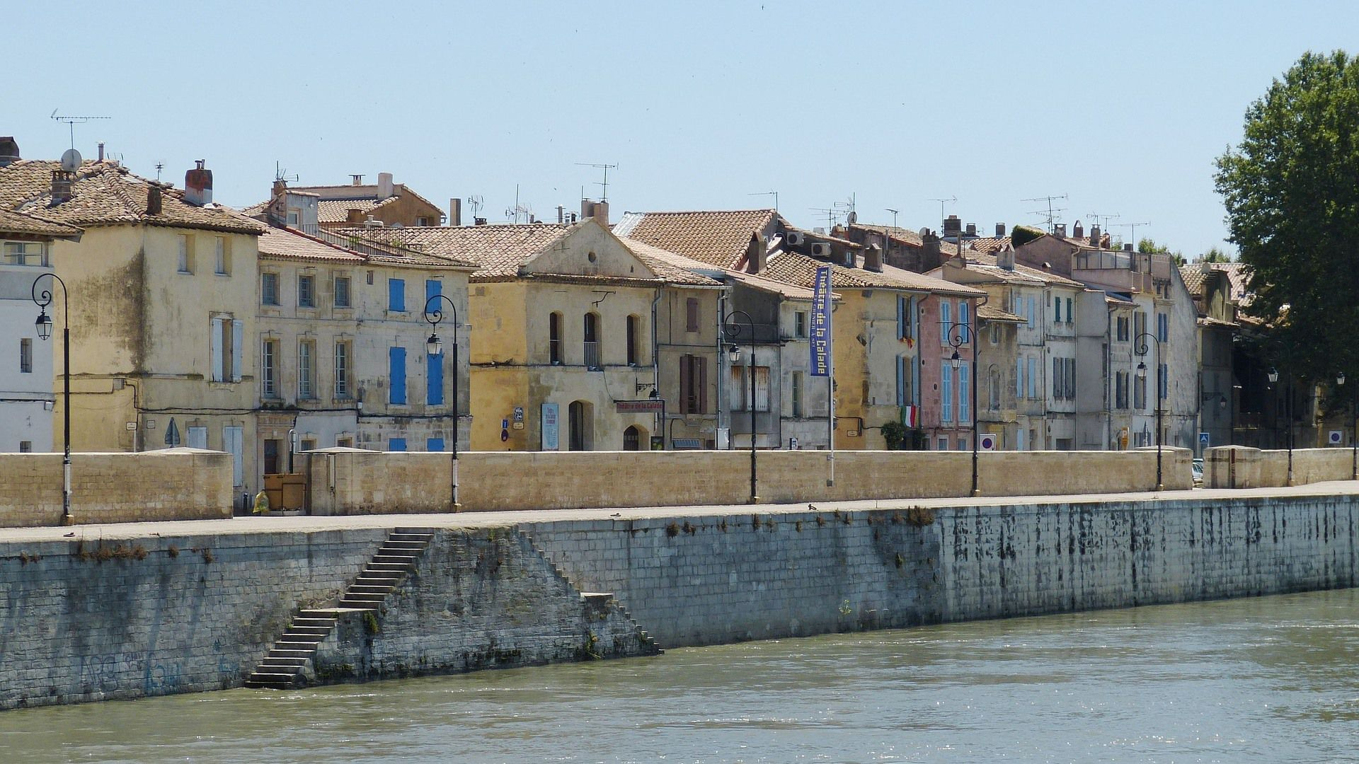 Rhone old town